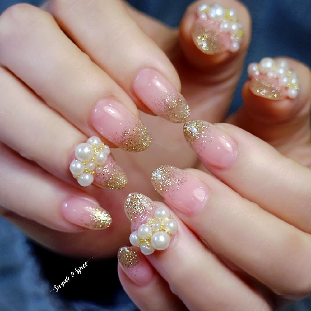 ピンク × パール
