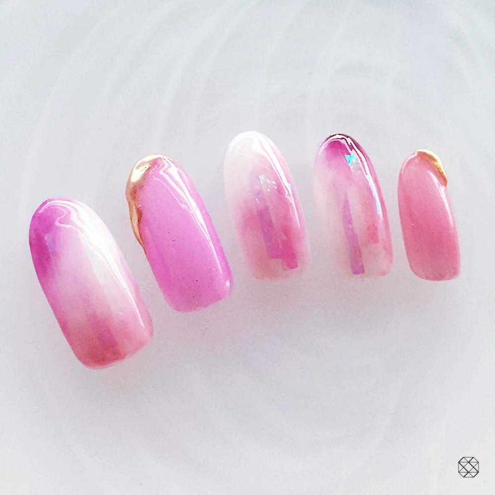 ピンク × ニュアンス